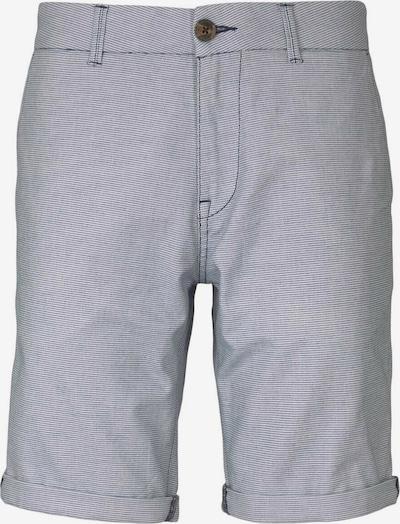 TOM TAILOR DENIM Pantalon chino en bleu marine / blanc, Vue avec produit