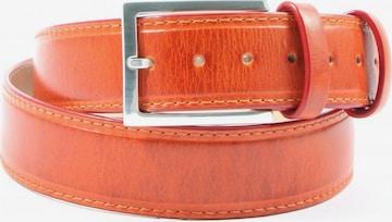 MELVIN & HAMILTON Ledergürtel in XS-XL in Orange