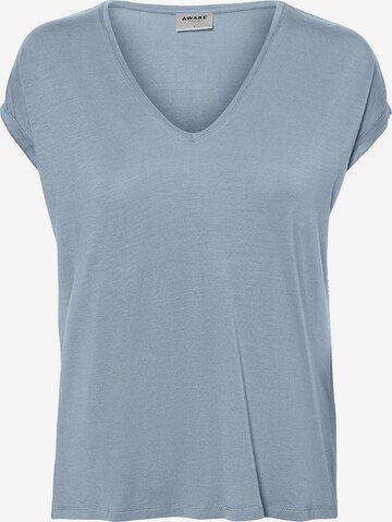 VERO MODA Shirt 'VMAVA' in Blauw