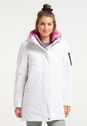 MYMO 3 in 1 Mantel in Weiß