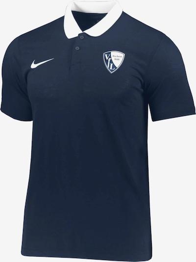 NIKE Shirt in blau / weiß: Frontalansicht