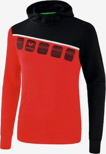 ERIMA Sweatshirt in rot / schwarz, Produktansicht