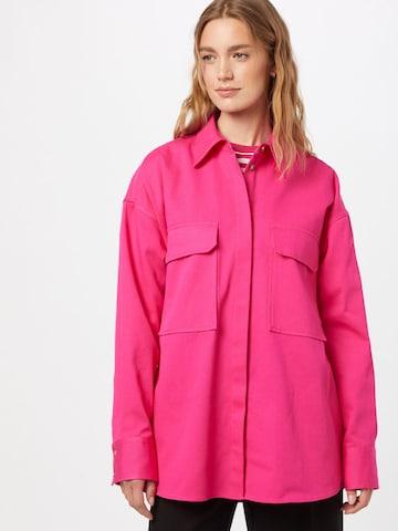 HUGO Bluse 'Evily' in Pink