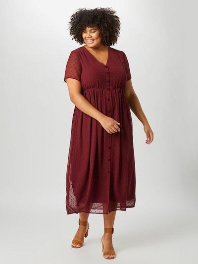 ABOUT YOU Curvy Kleid 'Grace Dress' in bordeaux, Modelansicht