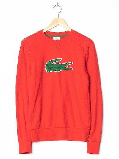 LACOSTE Pullover in S in rot, Produktansicht