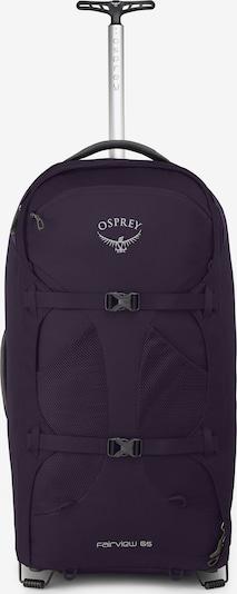 Osprey Rucksacktrolley in lila, Produktansicht