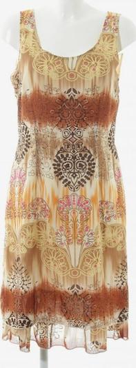 Authentic Clothing Company Minikleid in L in braun / pastellgelb / wollweiß, Produktansicht