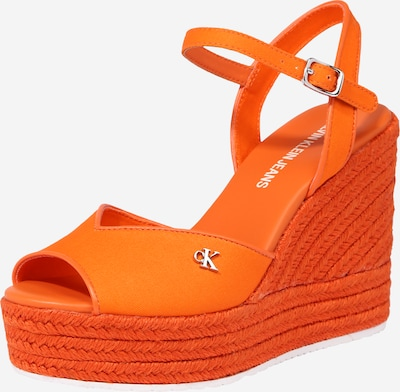 Calvin Klein Sandalette in orange, Produktansicht