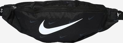 Nike Sportswear Чанта за кръста в черно / бяло, Преглед на продукта
