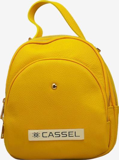 Clay Cassel Daypack 'SPIRITOSA BIG' in gelb, Produktansicht