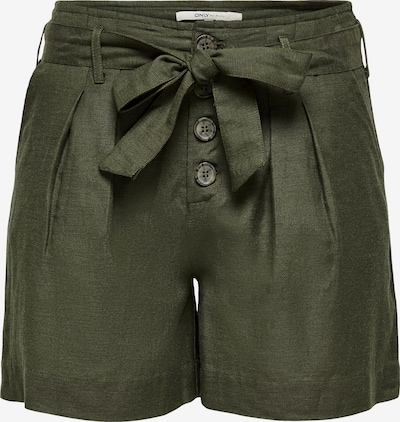 Pantaloni con pieghe ONLY di colore verde scuro, Visualizzazione prodotti