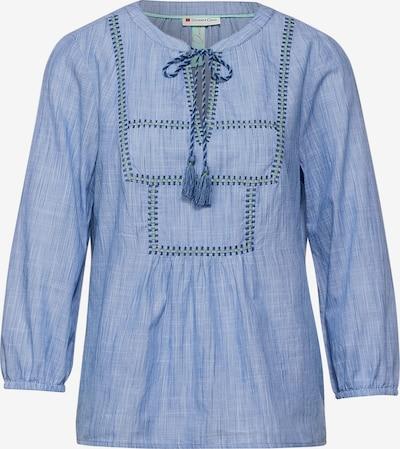 Bluză 'Chambray ' STREET ONE pe albastru deschis / albastru închis, Vizualizare produs