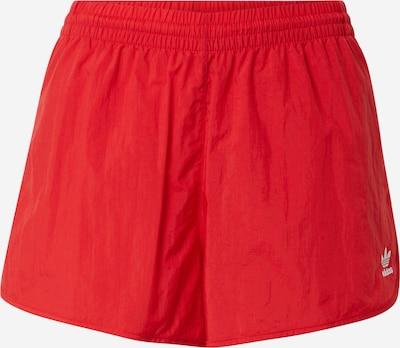 ADIDAS ORIGINALS Shorts in rot / weiß, Produktansicht