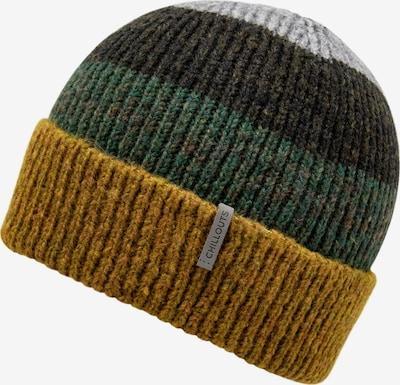 chillouts Mütze 'Fritz Hat' in braun / curry / grau / grün, Produktansicht