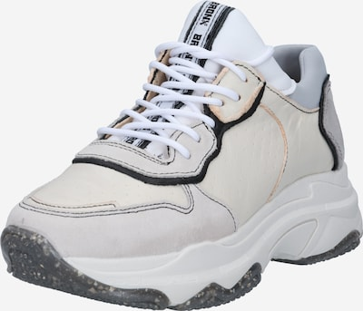 BRONX Sneakers low 'BAISLEY' in Light grey / Black / Pearl white, Item view