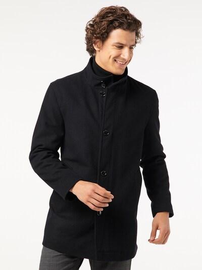 PIERRE CARDIN Manteau d'hiver en noir, Vue avec modèle
