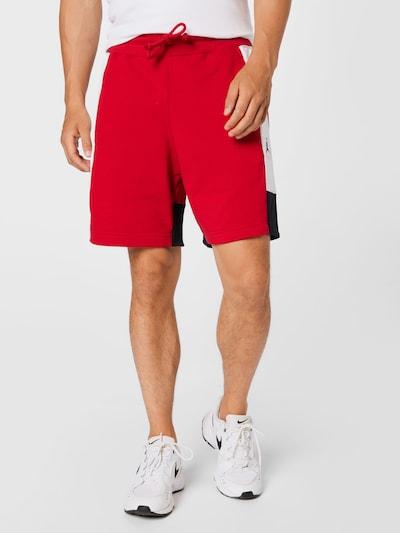 Jordan Nohavice - červená / čierna / biela, Model/-ka