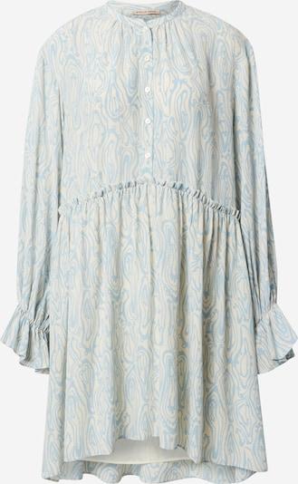 Stella Nova Kleid 'Line' in creme / hellblau, Produktansicht