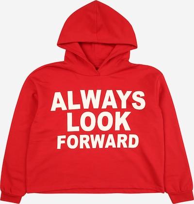KIDS ONLY Sweatshirt 'KIMMIE' in rot / weiß, Produktansicht