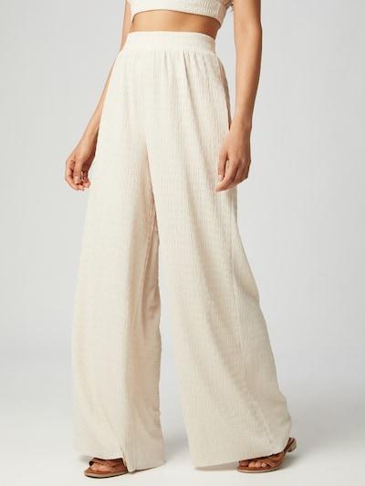 Guido Maria Kretschmer Collection Kalhoty 'Tamara' - béžová, Model/ka