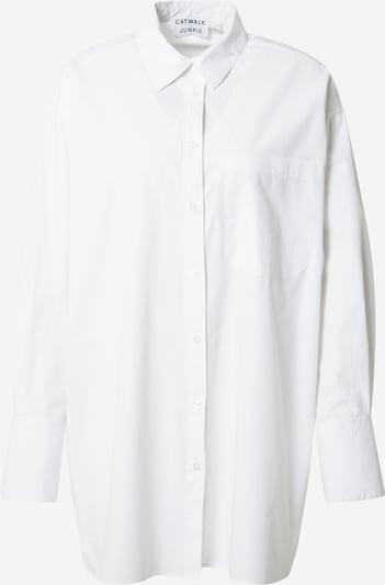 Bluză 'PENELOPE' CATWALK JUNKIE pe alb, Vizualizare produs