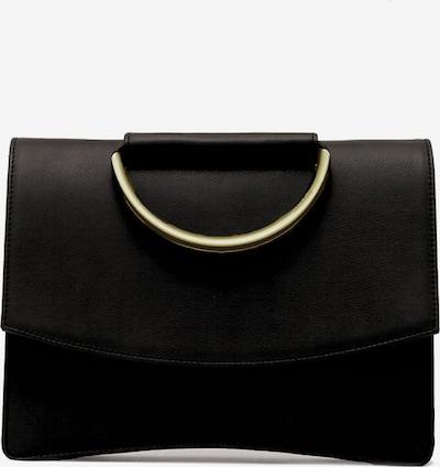 Gretchen Schultertasche 'Oyster Clutch Three' in gold / schwarz, Produktansicht