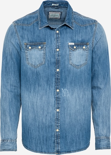GUESS Shirt 'CONNOR' in blue denim, Item view
