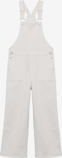 MANGO KIDS Latzhose 'Frayed' in weiß, Produktansicht