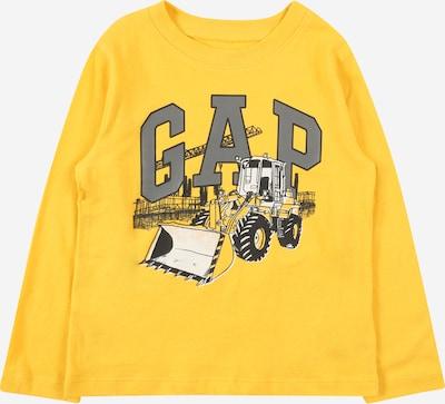 GAP T-Shirt en or / gris / noir / blanc, Vue avec produit