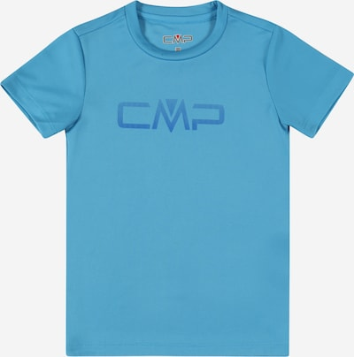 Tricou funcțional CMP pe albastru / azuriu, Vizualizare produs