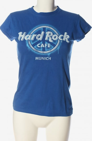 Hard Rock Cafe Top & Shirt in S in Blue / White, Item view