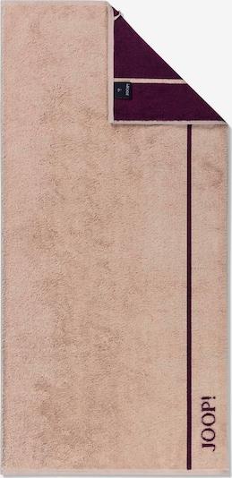 JOOP! Serviette en rose ancienne / rose foncé, Vue avec produit
