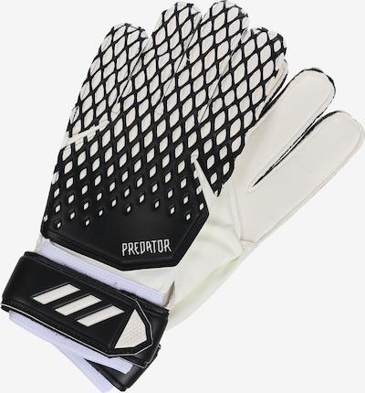 ADIDAS PERFORMANCE Sporthandschuhe 'Predator 20' in schwarz / weiß, Produktansicht