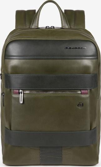 Piquadro Backpack 'Obidos' in Brown / Dark green, Item view