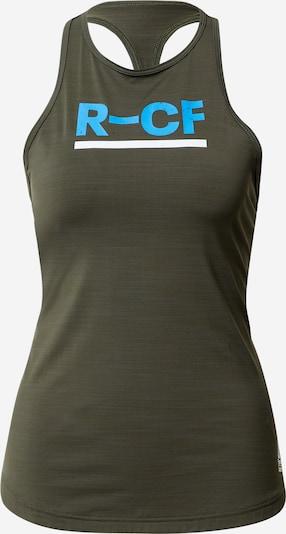 REEBOK Športový top - modrá / olivová / biela, Produkt