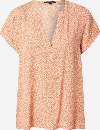 COMMA Bluza u bež / smeđa / pastelno narančasta, Pregled proizvoda
