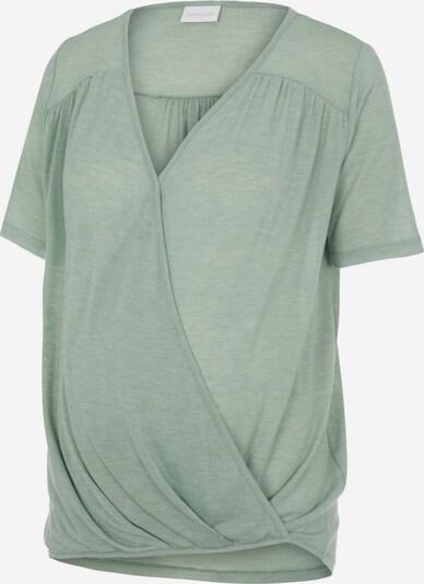 MAMALICIOUS T-shirt 'Milla' en menthe: Vue de face