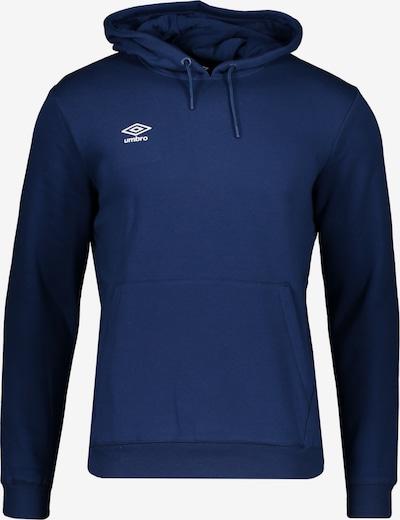 UMBRO Sweat de sport en bleu foncé, Vue avec produit