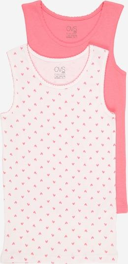 OVS Unterhemd in pink / weiß, Produktansicht
