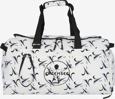CHIEMSEE Reisetasche 'Surf n Turf' in hellblau / schwarz / weiß, Produktansicht