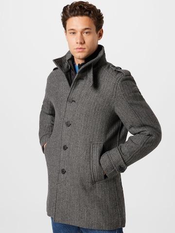 Manteau mi-saison 'NOAH' SELECTED HOMME en gris