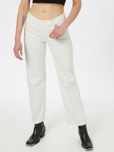 Goldgarn Jeans 'Rosengarten' in White, View model