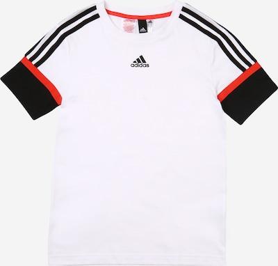 Sportiniai marškinėliai iš ADIDAS PERFORMANCE , spalva - raudona / juoda / balta, Prekių apžvalga