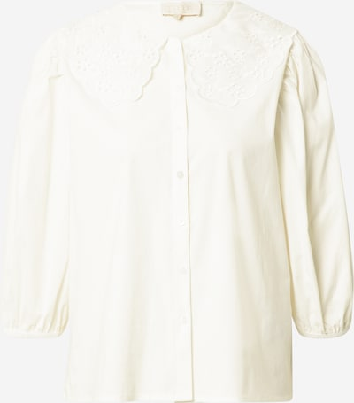 minus Blusa 'Raja' en blanco lana, Vista del producto