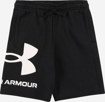 UNDER ARMOUR Sporthose in Schwarz