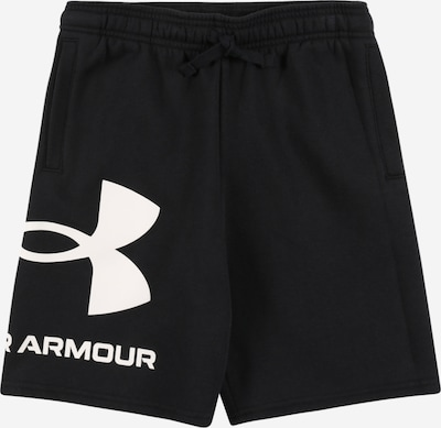 UNDER ARMOUR Sportsbukser i sort / hvid, Produktvisning