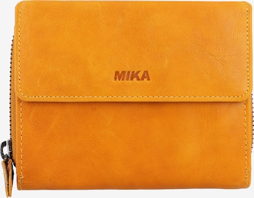 MIKA Geldbörse in Gelb