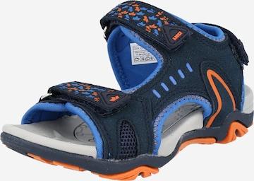 LICO Offene Schuhe  'Gomera' in Blau