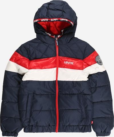 LEVI'S Tussenjas in de kleur Nachtblauw / Rood / Wit, Productweergave