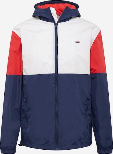 Geacă de primăvară-toamnă Tommy Jeans pe albastru marin / roșu / alb, Vizualizare produs